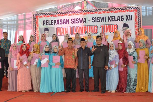 "Ka.Kanwil; ""Siswa MAN 1 Lampung Timur Lanjutkan Pendidikan Yang Lebih Tinggi, Raih Gelar Doktor"""