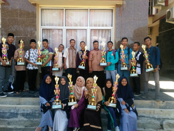 Sukses..MAN 1 Lampung Timur Juara Umum IAIN METRO CUP  se-Provinsi Lampung Tahun 2019
