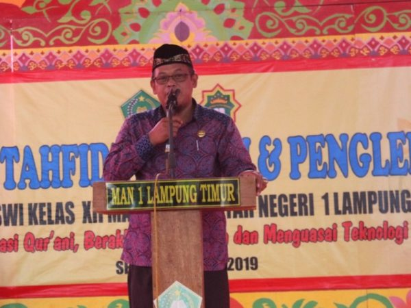 Hampir 50 % Lulusan MAN 1 Lampung Timur di Terima di Perguruan Tinggi Negeri