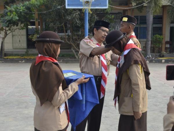 MAN 1 Lampung Timur Terima Tamu Ambalan Periode Tahun 2019 -2020