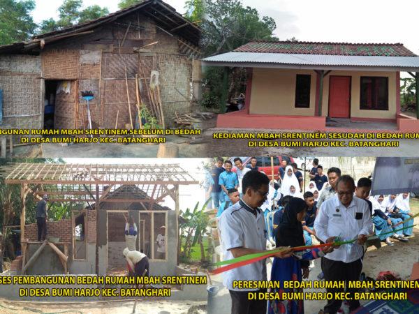 MAN 1 Lampung Timur Adakan Bhakti Sosial Bedah Rumah  Yang Ke -6