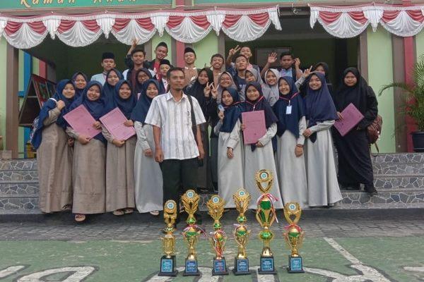 ROHIS MAN 1 Lampung Timur  Raih 3 Emas Dan 3 Perunggu Dalam SIAR  12 Tahun 2020
