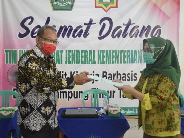 MAN 1 Lampung Timur Peroleh Nilai 77,751 dalam Penilaian Kinerja