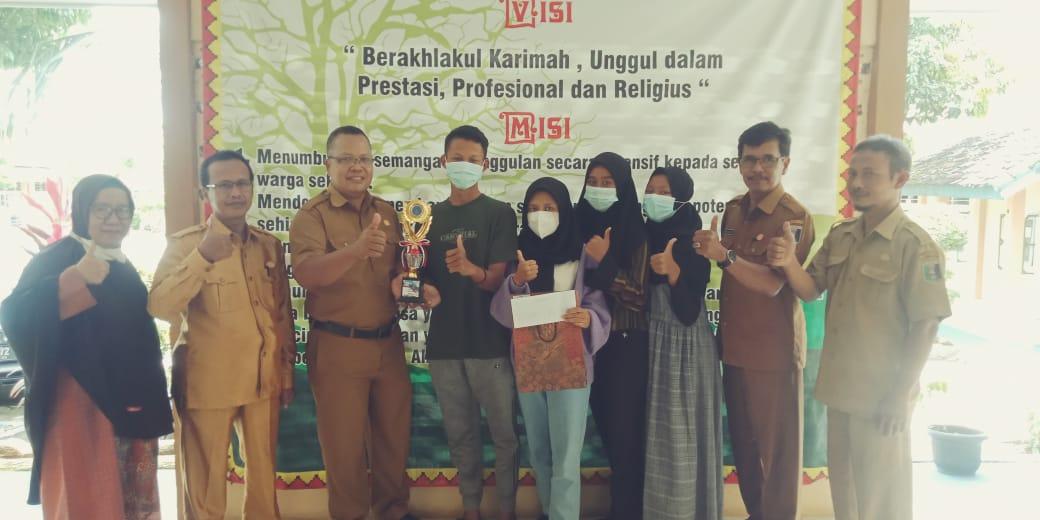 MAN 1 Lampung Timur Sabet  Juara 3 Lomba Video Pendek