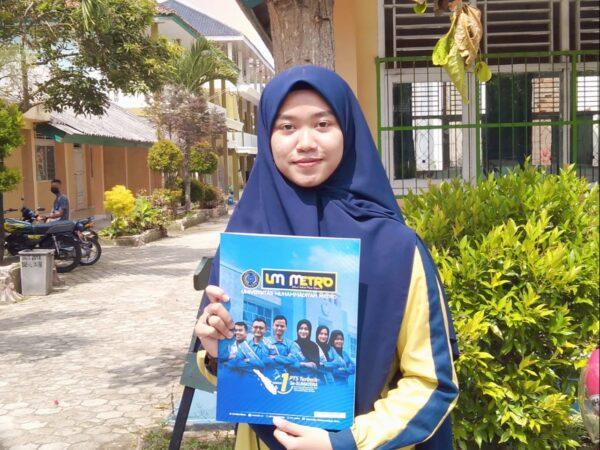 Siswi MAN 1 Lampung Timur Peroleh Juara 2 Kompetisi Tilawah SMA Sederjat